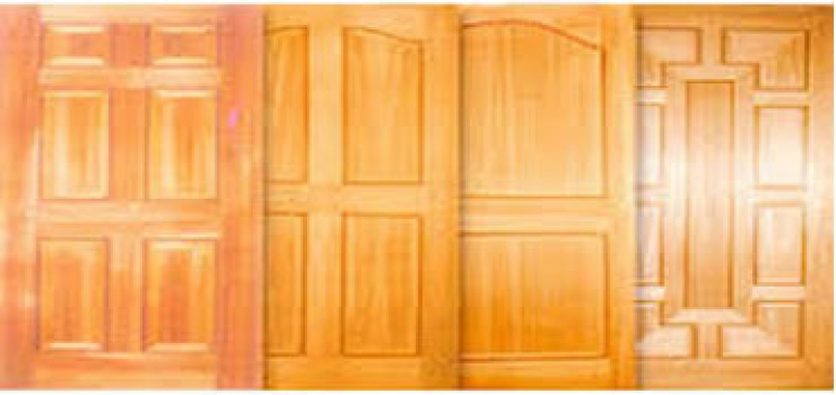 Available variety of ready to install doors